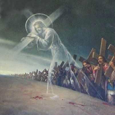 مراحل درب الصليب تتلى في زمن الصوم