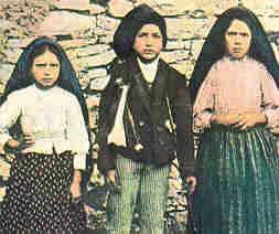 قصة ظهور العذراء مريم على الاطفال الثلاث في فاطيما بالبرتغال 3