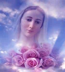 ترنيمة إليك الورد يا مريم - جومانا مدور