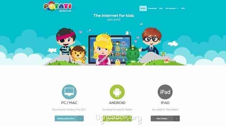 Photo of احمي أطفالك من مخاطر الإنترنت مع المتصفح Potati