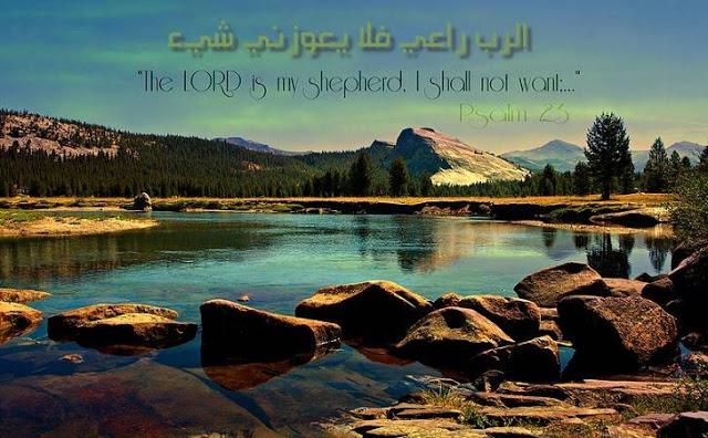 بالفيديو.. مزمور 23 الرب راعي فلا يعوزني شيء