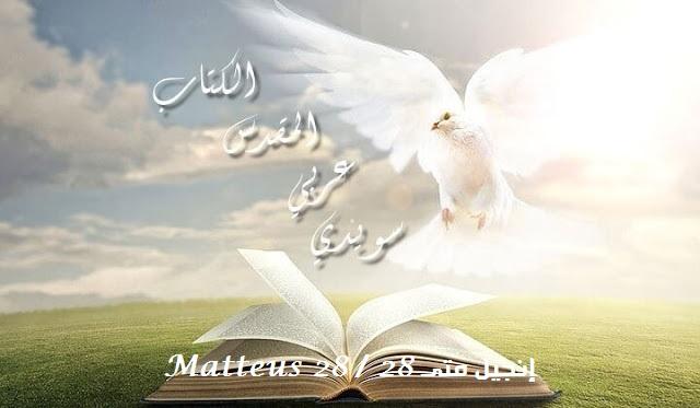 إنجيل متى 28 / Matteus 28