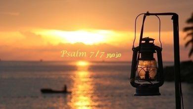 Photo of Psalm 7 (KJV) Free Audio English Arabic Read and Listen