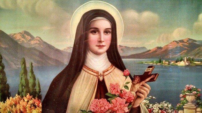 صلاة تساعية القديسة تريزا الطفل يسوع - وردة يسوع الصغيرة
