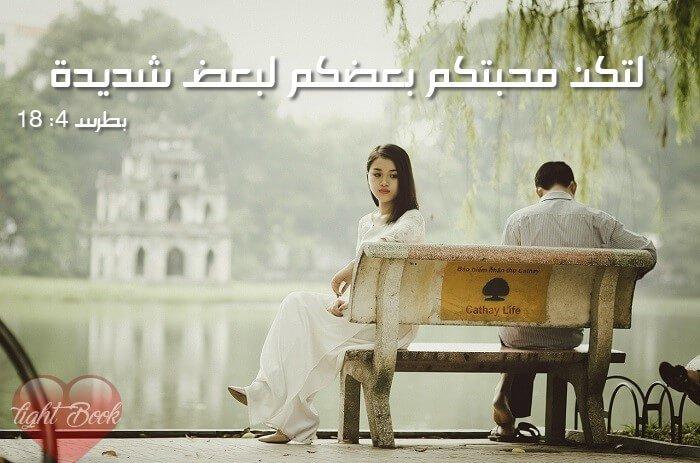 Bible Verses about Love 2 (English-Arabic)