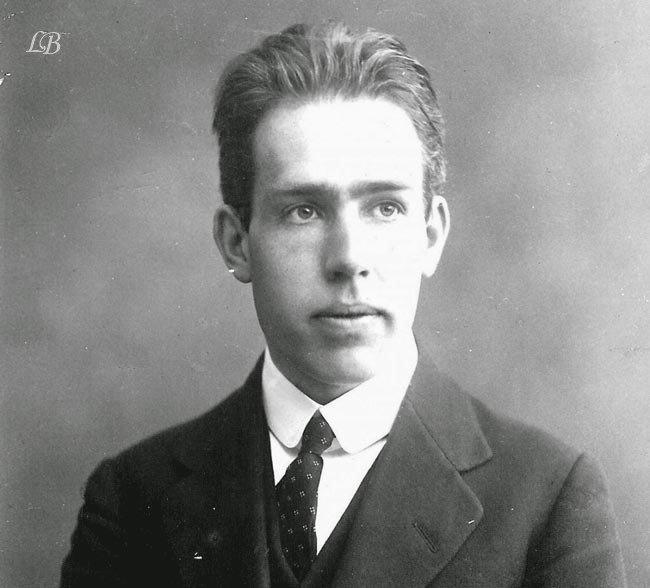 Photo of عالم الفيزياء نيلس هنريك دافيد بور Niels Henrik David Bohr