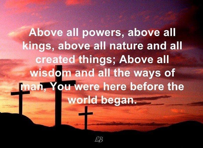 Photo of ترنيمة فوق كل قوة ورياسة – Above All Powers Above All Kings