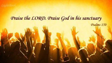 Photo of Bible Verses about Praise (English-Arabic)