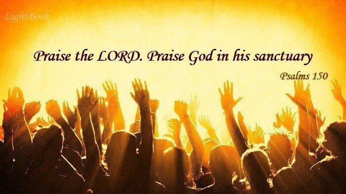 Bible Verses about Praise (English-Arabic)