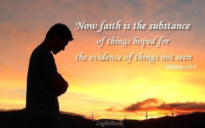 Bible Verses about Faith (English-Arabic)