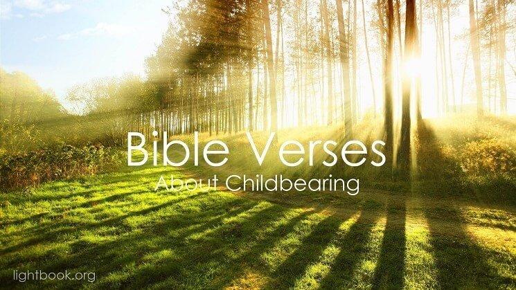 Photo of Bible Verses aboutChildbearing 2 (English-Arabic)