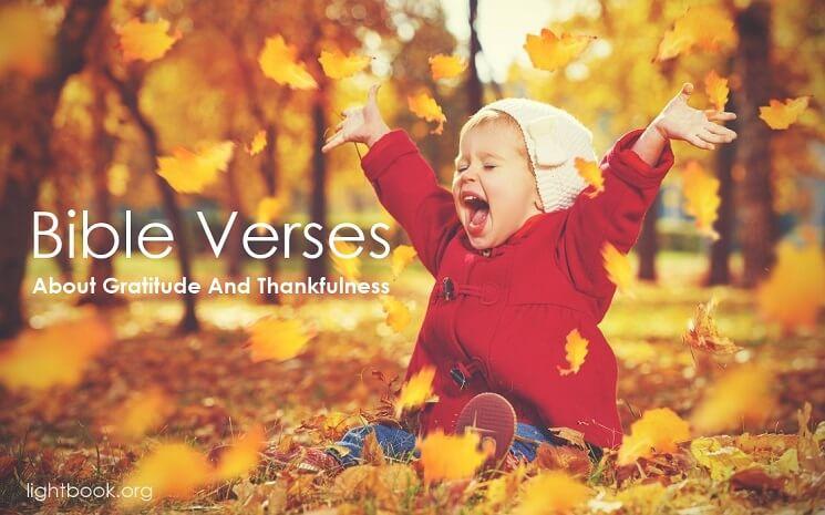 Bible Verses about Gratitude And Thankfulness (English-Arabic)