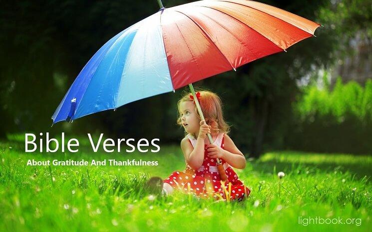 Bible Verses aboutGratitude And Thankfulness ( 2 )