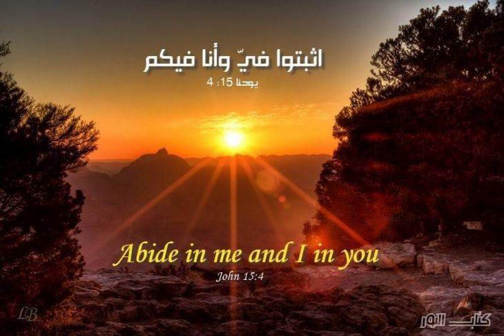 Bible Verses about Spiritual Growth (English-Arabic)