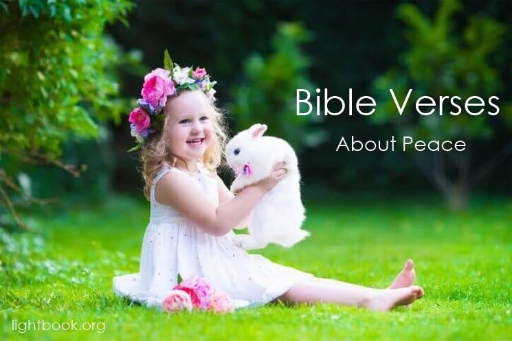 Bible Verses about Blessing and Peace in English and Arabic