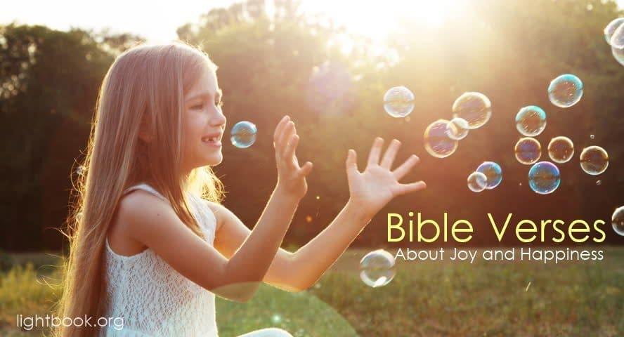 Photo of Bible Verses about Joy (English-Arabic)
