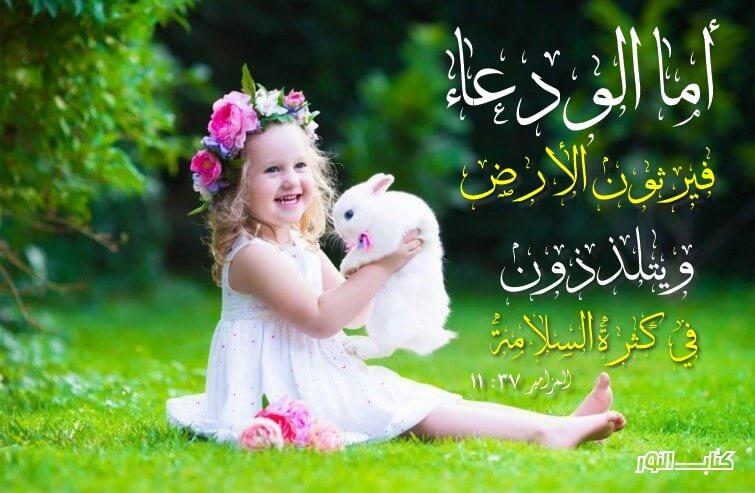 آيات عن البركة والسلام Peace من الكتاب المقدس عربي إنجليزي