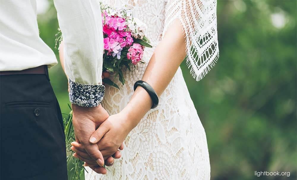 Bible Verses about Matrimonio Y El Sexo ( 6 ) (Spanish-Arabic)