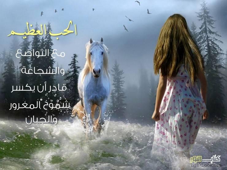 Photo of الحب العظيم مع التواضع والشجاعة قادر أن يكسر شموخ البخيل