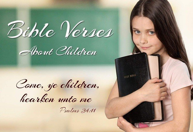 Bible Verses about Children - What Does the Bible Say?