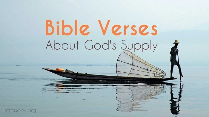 Bible Verses about God's Supply