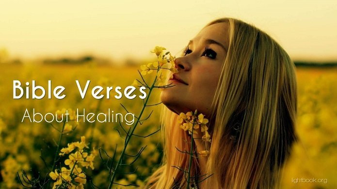 Bible Verses about Healing