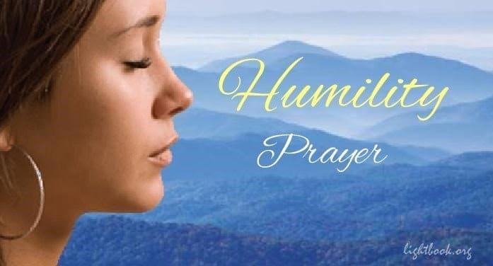 Humility Prayer - Jesus Change My Heart & Teach Me Your Way
