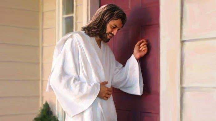 Jesus Is Knocking on the Door of Your Heart - with Lyrics