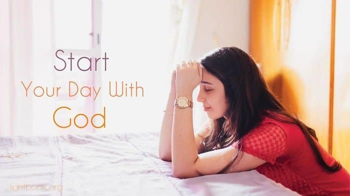 Morning Prayer to Start Your Day With God in Joy Happiness