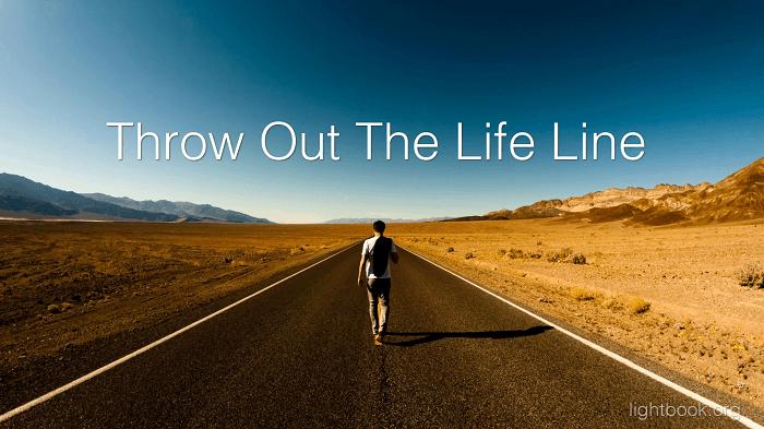 Throw Out the Life Line Across the Dark Wave - Lyrics