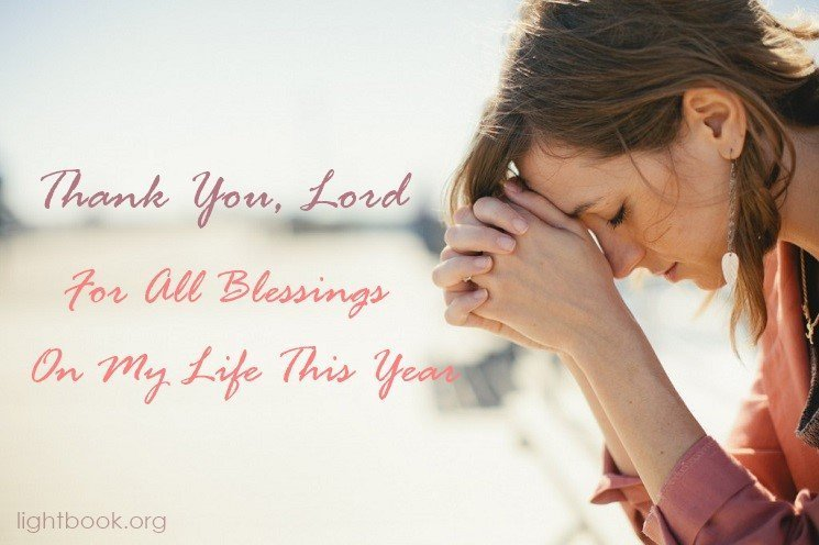 A Thanksgiving Prayer For all Blessings In Our Lives