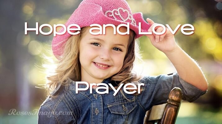 Prayer to Heavenly Father for Hope and Love